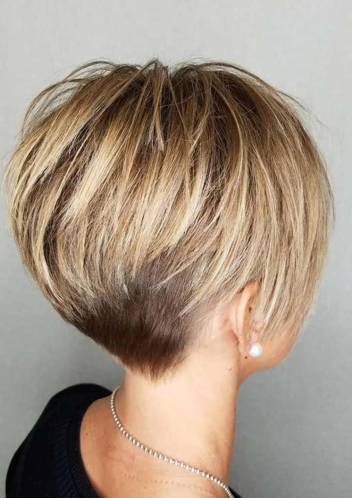 Trend short hairstyles and haircuts for short hair in 2018 Short Style Haircuts Inspirations