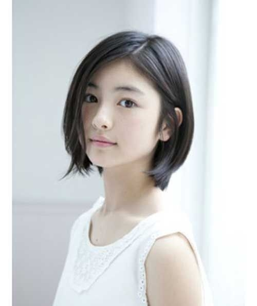 Trend short hairstyles for round face 6 asian short hair korean Short Hair For Round Face Asian Inspirations