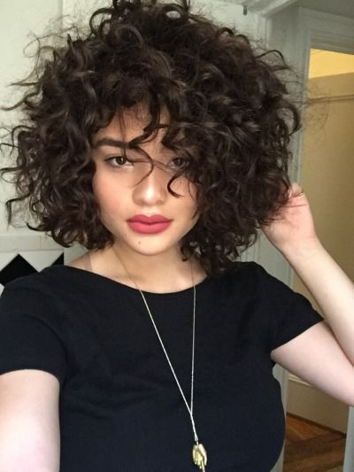 Trend short hairstyles for thick curly hair hair styles curly Cute Short Haircuts For Thick Curly Hair Choices