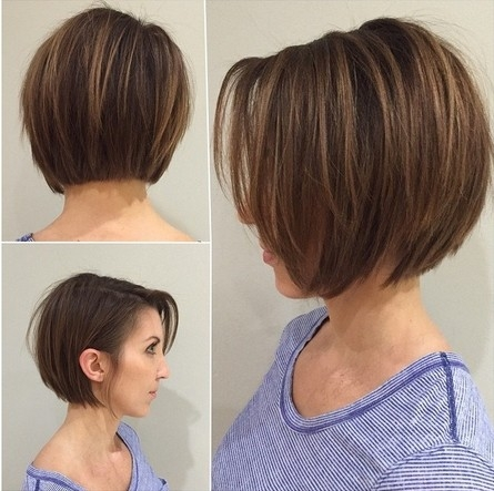 Trend short layered hairstyles for girls and women popular Pictures Of Short Layered Bob Haircuts Ideas