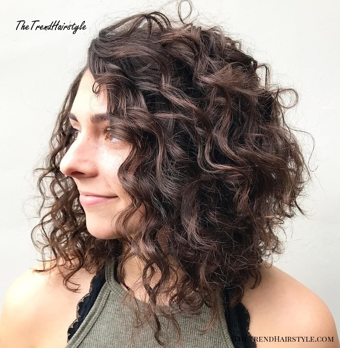 Trend side flat twists with high ponytail 60 styles and cuts for Short Layered Haircuts For Naturally Curly Hair Choices
