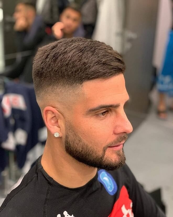 Trend taper fade with short hairstyle mens haircuts fade mens Short Hair Mens Styles Inspirations