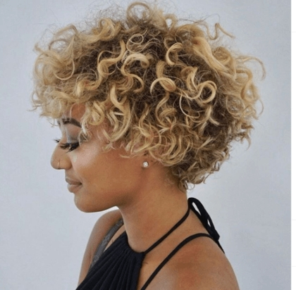 Trend the short hair style tips you need to know redken Curls On Short Hair Styles Inspirations