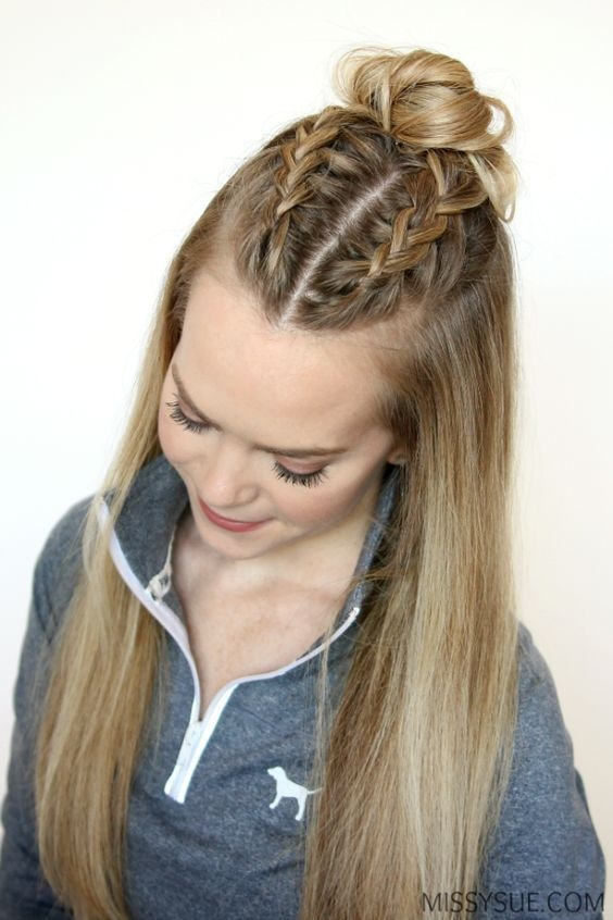 Trend top 50 french braid hairstyles you will love sporty French Braid Hair Style Inspirations