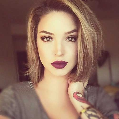 Trend top 8 hair cuts for girls who like to keep their hair short Short Even Hair Styles Inspirations