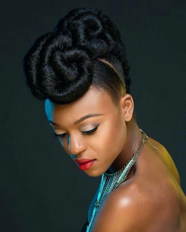 Trend updos for black hair best updo hairstyles for black women African American Up Hairstyles Designs