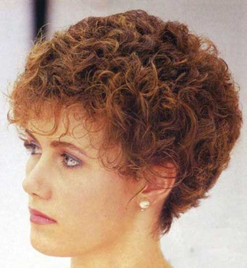 Trend very short permed curly haircuts short permed hair permed Styles For Short Permed Hair Ideas