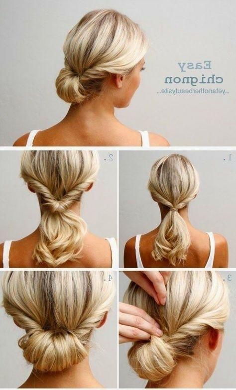 Trend wedding guest hairstyles for short hair chignon hair Wedding Guest Hairstyles Diy Short Hair Ideas