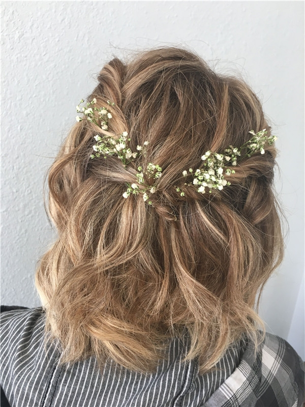 Trend wedding hairstyles for short hair wedding to amaze Simple Hairstyles For Short Hair For Weddings Inspirations