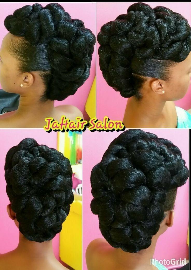 Trend wedding updo hair styles natural hair styles updo styles Updo Hairstyles African American Ideas