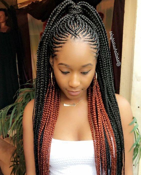 trending cornrow hairstyles 2018 ghana braids hairstyles African Cornrow Hairstyles