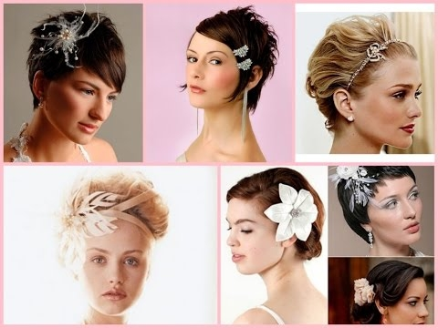 wedding hairstyle for short hair 30 best ideas Style Short Hair For Wedding Choices
