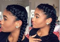 10 hot go to summer hairstyles on natural hair hergivenhair French Braid Styles For Short Natural Hair Ideas