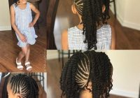12 easy winter protective natural hairstyles for kids Kid African American Hairstyles Designs