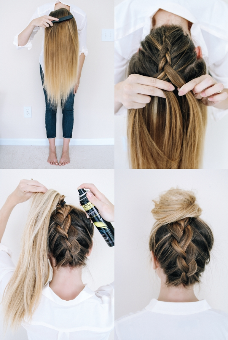 Permalink to 9 Elegant Quick And Easy Braided Hairstyles For Medium Hair Gallery