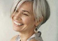 15 hairstyles for short grey hair Short Haircuts For Silver Hair Choices
