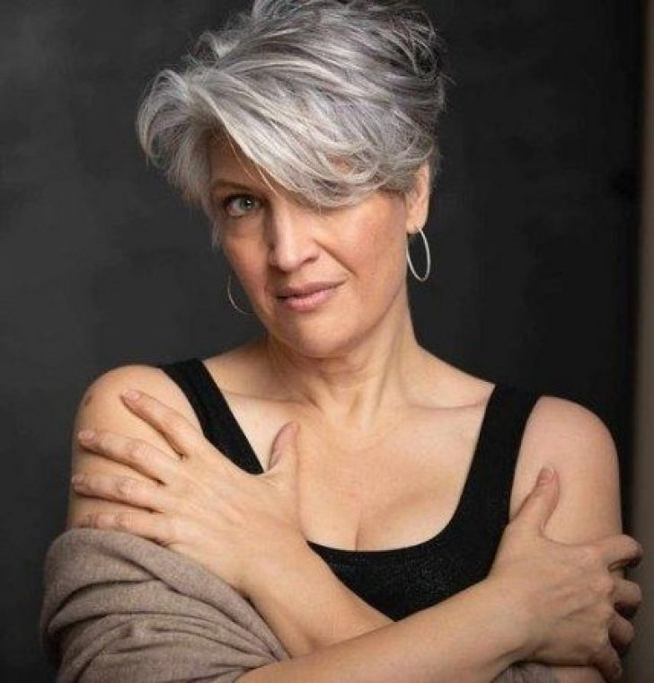 Permalink to 9 Perfect Gray Hair Styles Short Hairstyles