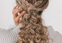 17 beautiful ways to style blonde curly hair curly hair Braided Hairstyles For Thick Curly Hair Inspirations