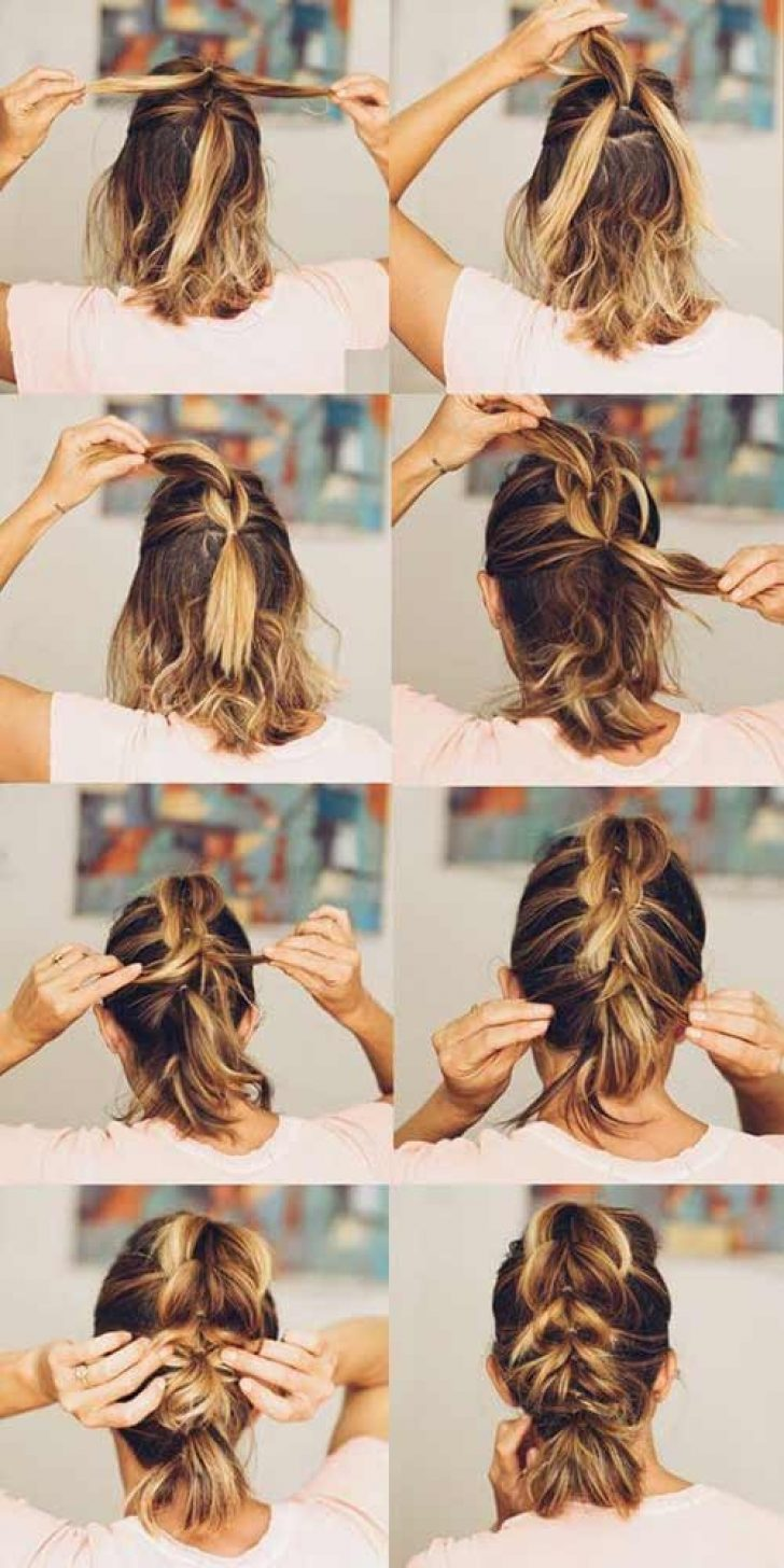 Permalink to 11 Awesome Cute Quick Hairdos For Short Hair Gallery