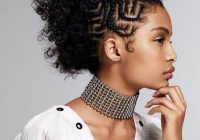 21 coolest cornrow braid hairstyles in 2020 the trend spotter Stylish Cornrows For African Hair