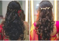 21 simple indian hairstyle for saree Hairstyles For Short Wavy Hair For Saree Choices