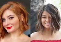 23 flattering short hairstyles for round faces stylesrant Short Haircuts On Round Faces Ideas