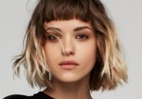 23 short hair with bangs hairstyle ideas photos included Short Hair With Full Fringe Choices