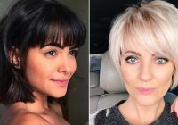 23 trendy ways to wear short hair with bangs stayglam Short Hair With Full Fringe Choices