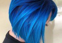 24 blue hairstyles for short hair popular short blue hair Blue Short Hair Styles Choices