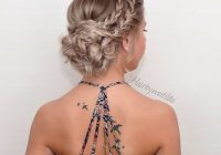 25 chic braided updos for medium length hair hairstyles weekly Easy Braided Updo For Medium Hair Inspirations
