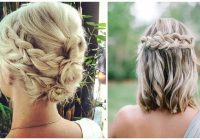27 braid hairstyles for short hair that are simply gorgeous Easy Braided Hairstyle For Short Hair Inspirations