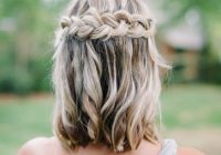 30 bridesmaid hairstyles your friends will love a Pictures Hairstyles For Bridesmaids With Short Hair Ideas