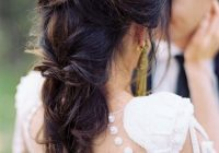 34 beautiful braided wedding hairstyles for the modern bride Cornrows Hairstyles For The Wedding