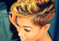 35 best short hairstyles for black women 2017 Black Short Haircut Styles Ideas