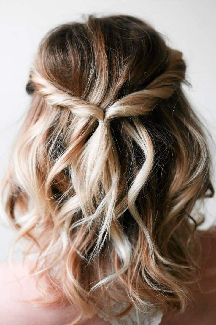 Permalink to 11 Awesome Cute Hairstyles For Short Hair For Parties Ideas