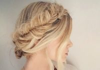 40 elegant prom hairstyles for long short hair somewhat Easy Hairstyles For Prom Short Hair Choices