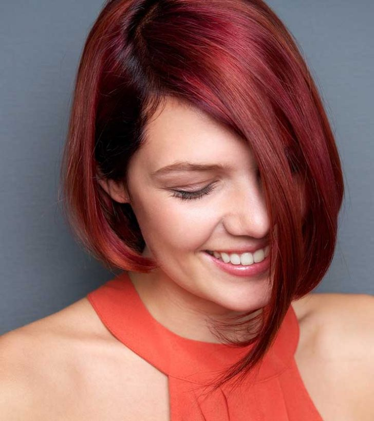 Permalink to Perfect Red Short Hair Styles Ideas