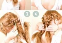 50 incredibly easy hairstyles for school to save you time Braid Hairstyles For Long Hair Step By Step Inspirations