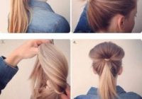 50 incredibly easy hairstyles for school to save you time Easy Hairstyles For Short Thick Hair To Do At Home Inspirations