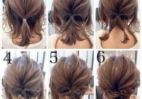 50 quick and easy step step hair tutorials for long Hairstyle For Short Hair For Wedding Step By Step Ideas