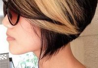 50 stylish highlighted hairstyles for black hair 2017 Short Black Hair With Blonde And Red Highlights Ideas