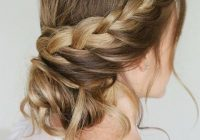 57 amazing braided hairstyles for long hair for every Braid Updo Long Hair Choices