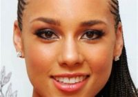 58 beautiful cornrows hairstyles for women Small Cornrow Hairstyles