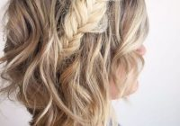 73 stunning braids for short hair that you will love Easy Fishtail Braid For Short Hair Inspirations