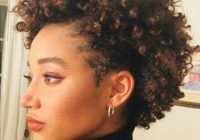 9 short natural hairstyles thatll look great on anyone Styles For Short Curly Natural Hair Inspirations