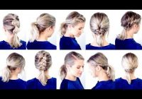 Awesome 10 cute easy low ponytail hairstyles milabu youtube Cute Ponytails For Short Hair For School Inspirations