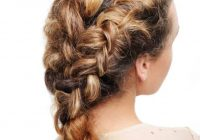Awesome 10 elegant french braids to wear with curly hair Braided Hairstyles For Thick Curly Hair Inspirations