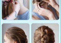 Awesome 10 french braids hairstyles tutorials everyday hair styles Long Hair Braided Updo Tutorial Ideas