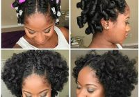 Awesome 11 bomb perm rod set on natural hair pictorials photos Flexi Rod Styles For Short Hair Choices