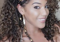 Awesome 15 braided hairstyles you need to try next naturallycurly Braid Styles With Curly Hair Choices